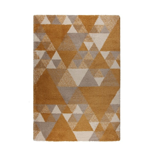 Nuru barna-krémszínű szőnyeg, 80 x 150 cm - Flair Rugs