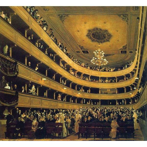 Gustav Klimt - obraz Hall, 60x55 cm