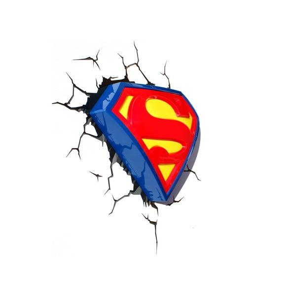 Nástěnné světlo s nálepkou Tnet Superman