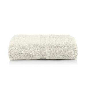 Světle šedobéžový ručník z bambusových vláken Maison Carezza Genoa, 50 x 100 cm