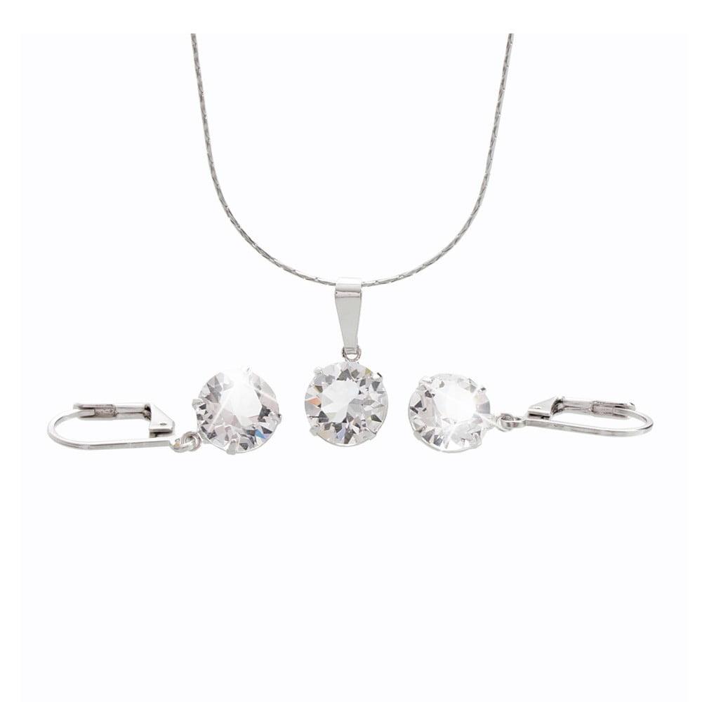 Set náhrdelníku a náušnic se Swarovski Elements Laura Bruni Old Times