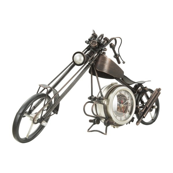Stolové hodiny v tvare motorky Mauro Ferretti, 55×28cm
