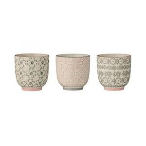Sada 3 keramických hrnků Bloomingville Cécile Sermo
