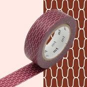 Bandă decorativă Washi MT Masking Tape Sandrine, rolă 10 m