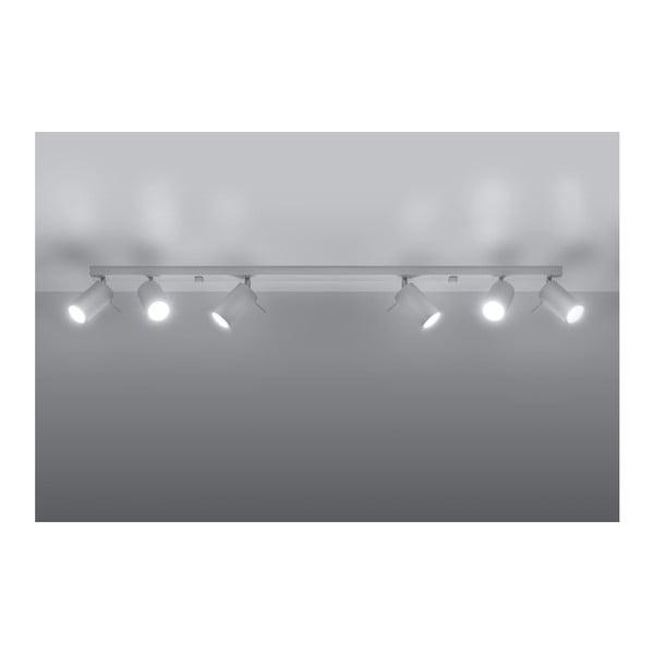 Bílé stropní svítidlo Nice Lamps Etna 6L