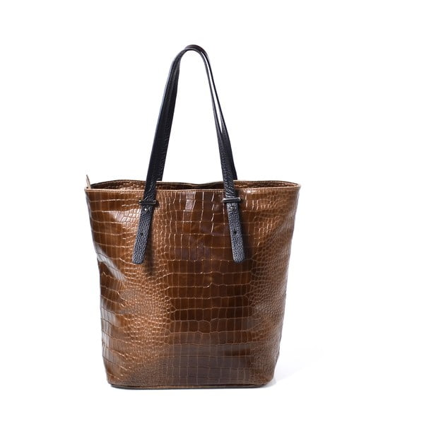 Kožená kabelka Irene, taupe