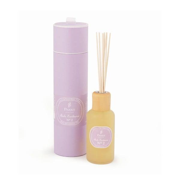 Mandarin, bergamott, rózsa és jázmin illatú aromadiffúzor, 12-14 hétig tartó illatintenzitással - Parks Candles London