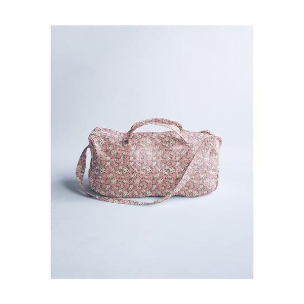 Světle růžová taška na kočárek Little Nice Things