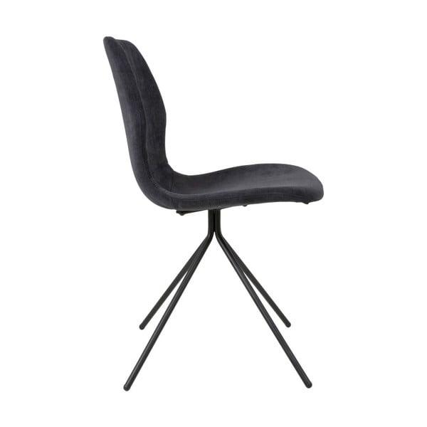 Černá jídelní židle Canett Tristian