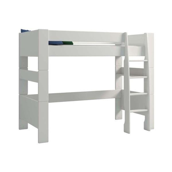 Krémově bílá dětská patrová postel Steens For Kids, výška 164cm