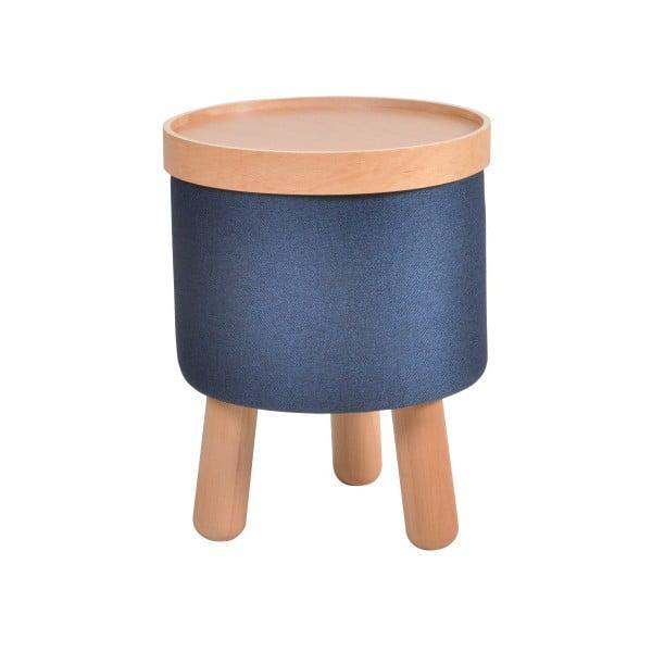 Modrá stolička Garageeight Molde s odnímatelným vrškem, velikost S
