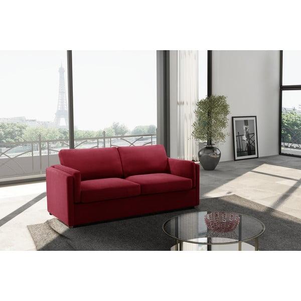 Canapea cu 3 locuri Corinne Cobson Lipstick, roșu