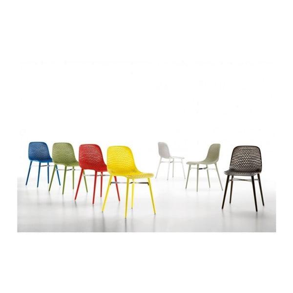 Set židlí Next 3+1 zdarma, žlutá