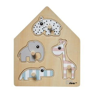 Puzzle Done by Deer Deer Friends House