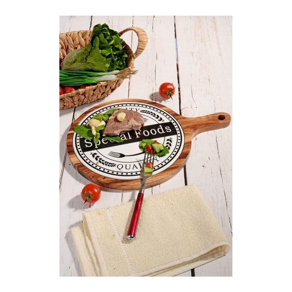 Bambusový podnos Kutahya Special Foods, ⌀ 39 cm