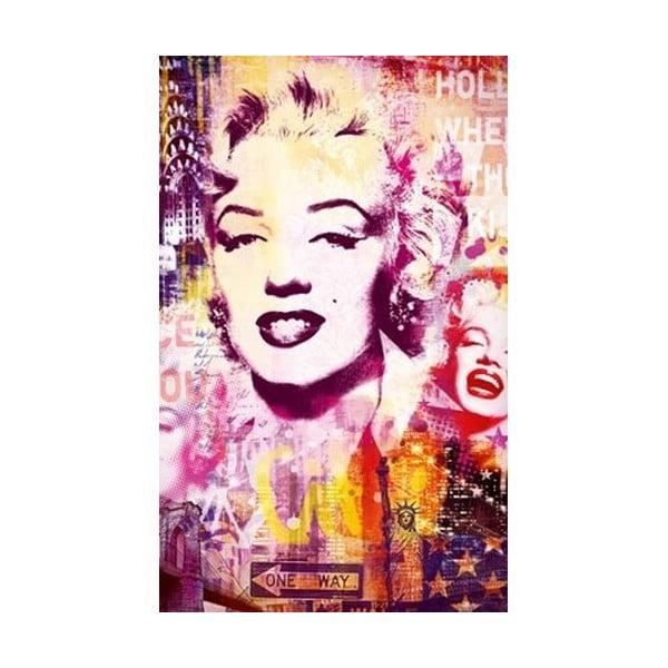 Fotoobraz Marilyn Colors, 81x51 cm