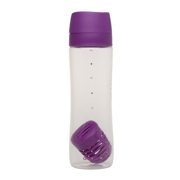 Lahev s infusérem Aladdin 700 ml, fialová