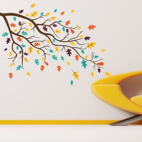 Happy Tree dekoratív falmatrica