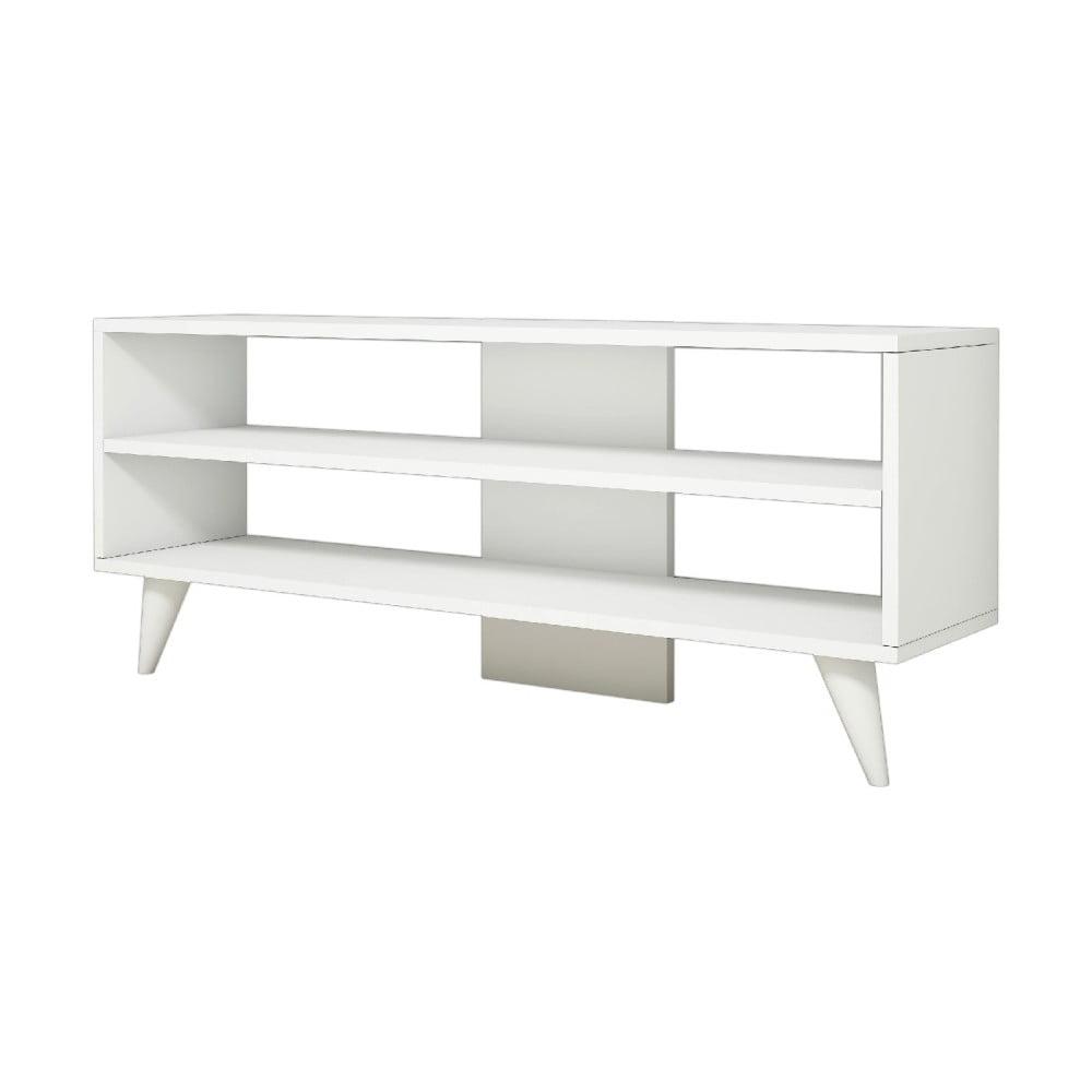 Bílý TV stolek One
