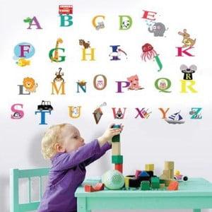 Autocolant Walplus Learning Alphabet