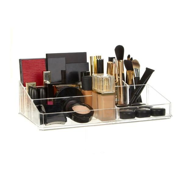Organizator cosmetice Premier Housewares Met Clear, 9 compartimente