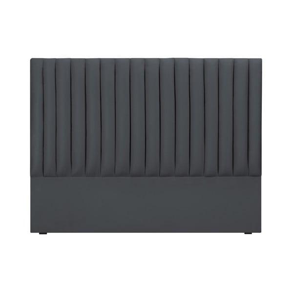 NJ szürke ágytámla, 200 x 120 cm - Cosmopolitan design