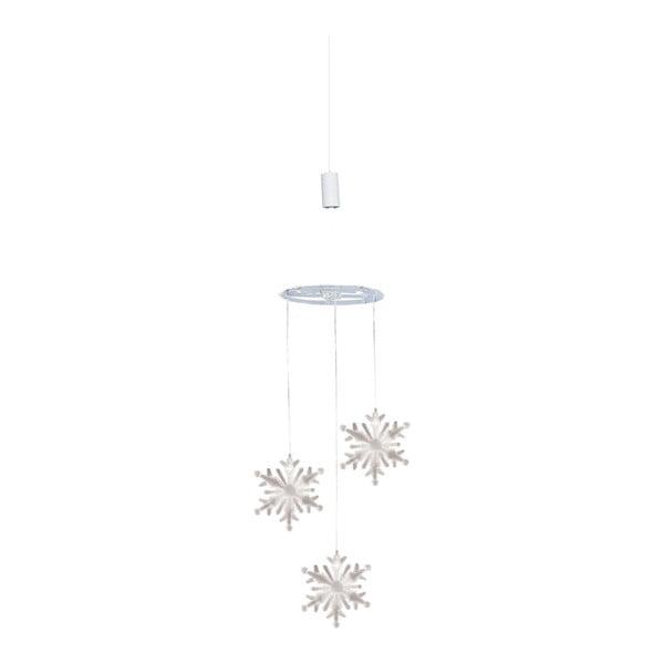 Závěsná děkorace s LED světly Naeve, výška 75 cm
