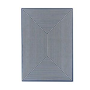 Modrý vysoce odolný koberec Webtappeti Braid,160x230cm
