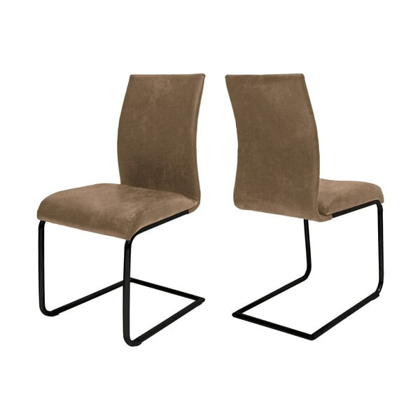 Béžová jídelní židle Canett Clipper