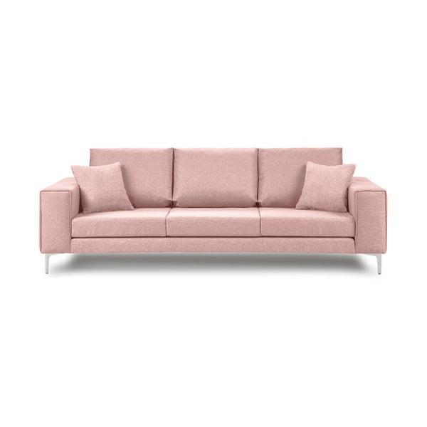 Ružová trojmiestna pohovka Cosmopolitan Design Cartagena