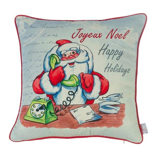 Vianočná obliečka na vankúš Apolena Comfort Happy Holidays, 43×43 cm