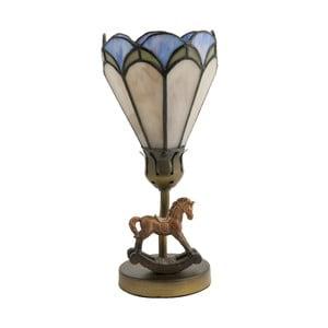 Tiffany stolní lampa Horse