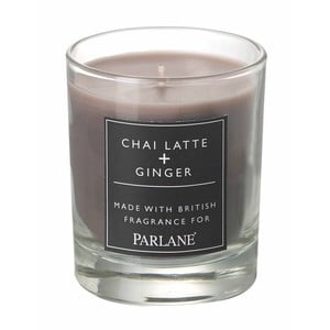 Svíčka ve skle Parlane Chai Latte & Ginger