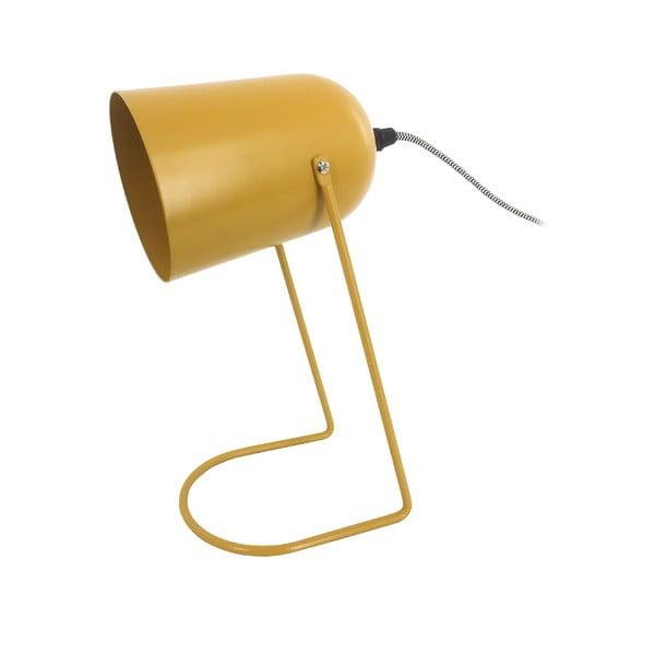 Żółta lampa stołowa Leitmotiv Enchant