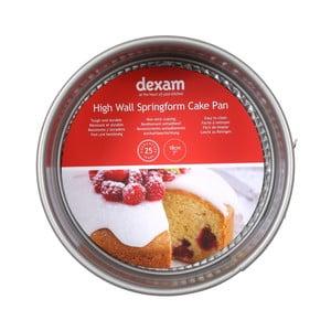 Kulatá forma na pečení dortu s nepřilnavým povrchem Dexam Wall Springform cake, ø18cm