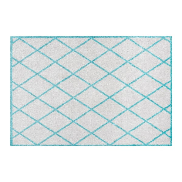 Šedomodrá rohožka Hanse Home Scale, 50x70cm