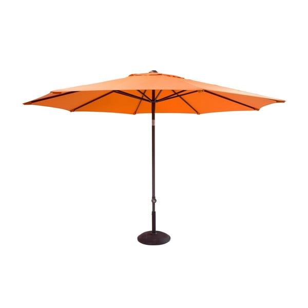 Umbrelă de grădină Hartman Solar, ø 300 cm, portocaliu