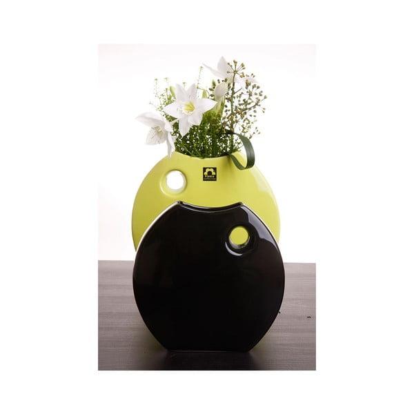 Váza Arros 23 cm, zelená