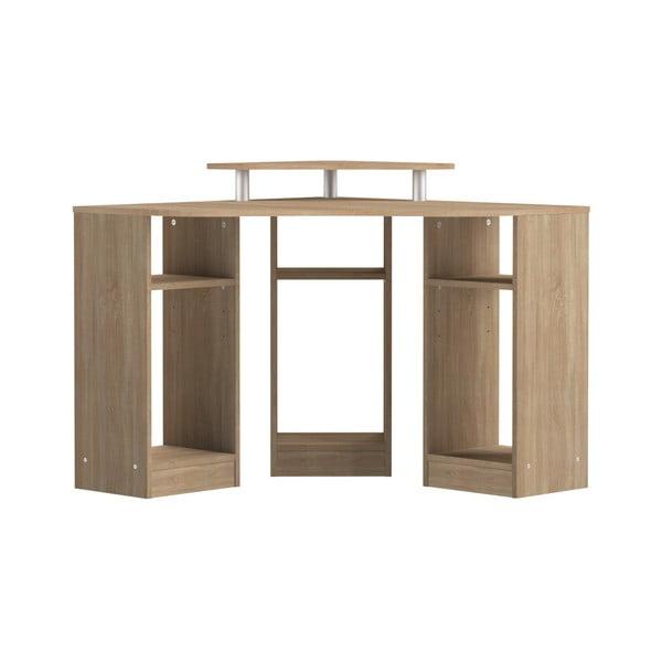 Corner barna sarokíróasztal - Symbiosis