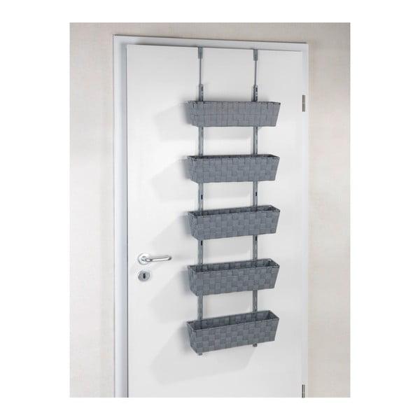 Závěsná polička na dveře s pěti košíky Wenko Adria
