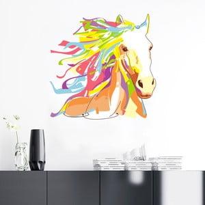 Samolepka Ambiance Pop Art Cheval, 60 x 60 cm
