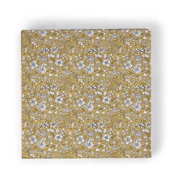 Sada 20 dekoračních papírových ubrousků A Simple Mess Dinan Golden Yellow