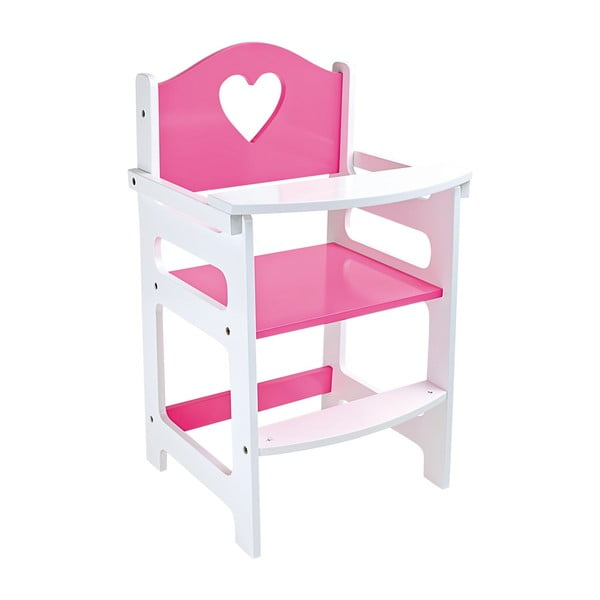 Rózsaszín ülőke játékbabáknak - Legler