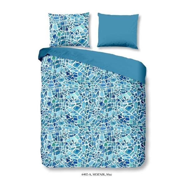 Obliečky na dvojlôžko zo 100% bavlny Good Morning Mozaik, 240×200 cm