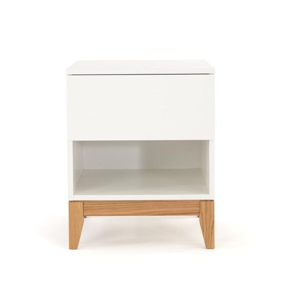 Blanco fehér tárolóasztal - Woodman
