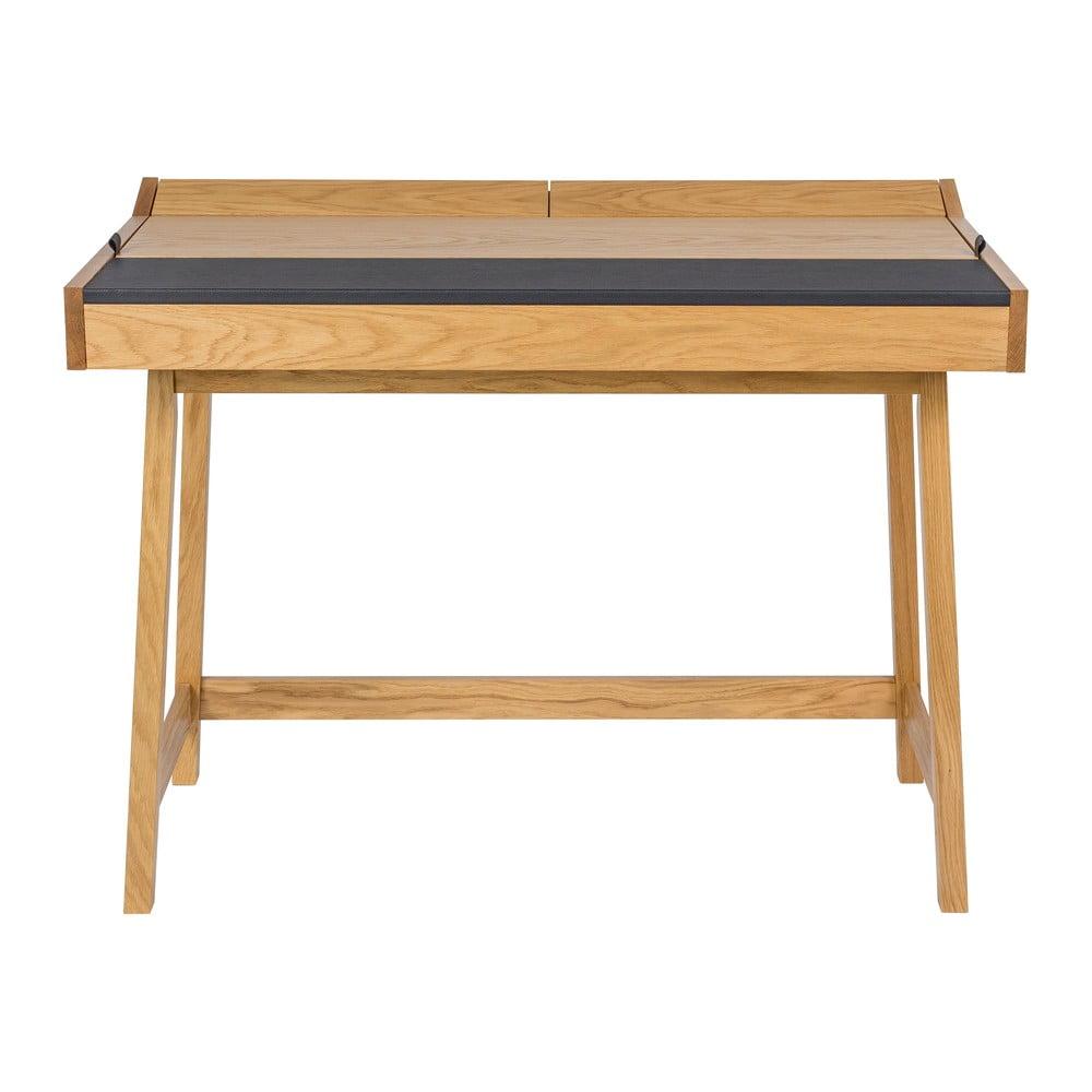 Pracovní stůl z dubového dřeva Woodman Brompton