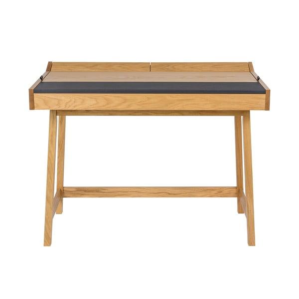 Pracovný stôl z dubového dreva Woodman Brompton