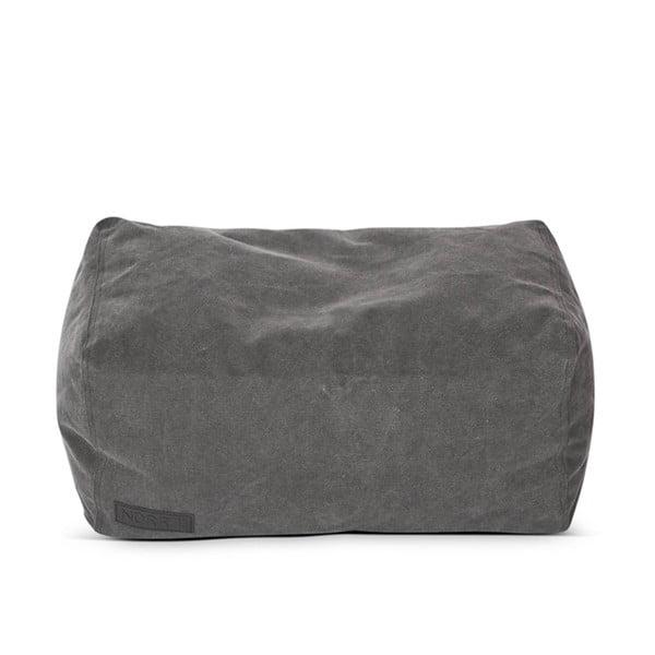 Sedací vak Lounge Square Club Series, tmavě šedý