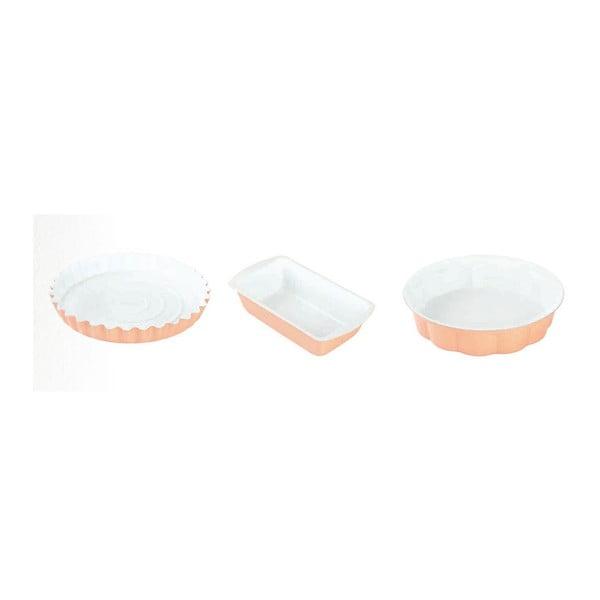 Set forem na pečení Muffin and Cake, 3 ks, oranžová