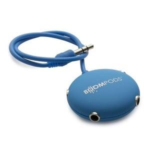 Multipod pro sdílení sluchátek, modrý